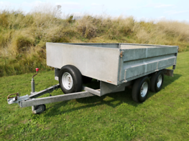 Trailer galvanised twin wheel 8ft X 5.25ft (2440mm X 1600mm) trailor