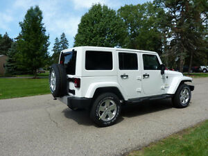2015 Jeep Wrangler Sahara Unlimited SUV, Crossover