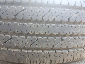 4 TIRES -  245/75R16 FOR SALE