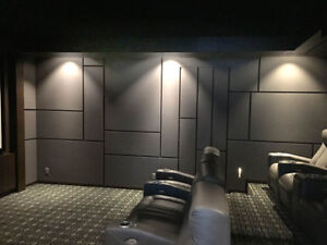 ACOUSTIC PANELS FOR HOME THEATERS, ROOM ACOUSTICS, NOISE CONTROL