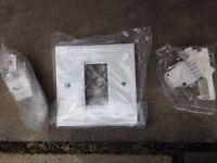 CAT 5E and facia plates