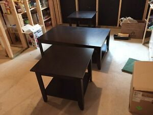 Coffee Table and Two end Tables- matching set