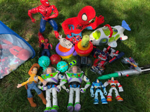 Miscellaneous children's toys