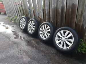 5x114.3 OEM Alloy Rims with Tires