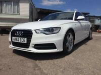 2012/62 Audi A6 Saloon 2.0TDI ( 177ps ) Multitronic ( C7 ) S Line LOW MILEAGE