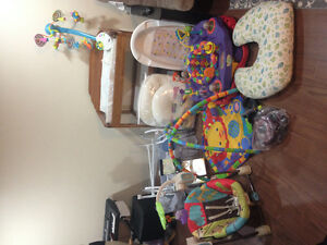 Exersaucer / other baby items for sale