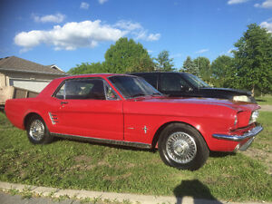 1966 Ford Mustang V8 289 2 Door Automatic
