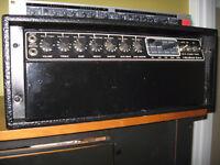mesa boogie short head tube amplifier Mk III Blue Stripe
