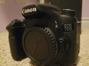 Canon 70d combo
