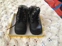 Boys size 8 1/2  boots
