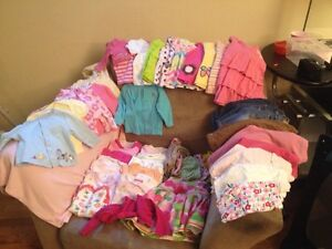 Baby girl lot 48 items