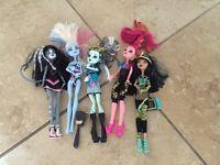 Monster high dolls 5