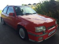 VAUXHALL ASTRA GTE 16V PROJECT