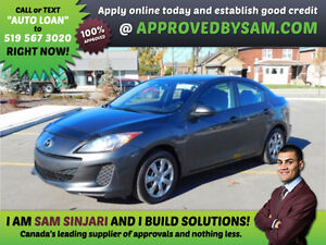 MAZDA 3 - Payment Budget and Bad Credit? GUARANTEED APPROVAL. Windsor Region Ontario image 1