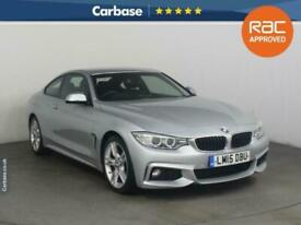 image for 2015 BMW 4 Series 420d [190] M Sport 2dr [Professional Media] COUPE Diesel Manua