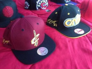 Cavs Lebron Kyrie signed hat stitched on