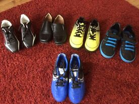 Boys trainers & football boots