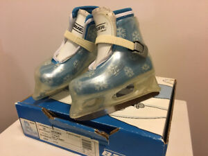 Bauer Lil Angel II Ice Skates Size 10 Girls