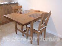Small extendable Ikea table