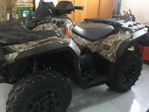 2013 Can Am Outlander 1000 XT in excellent condition -  low kms