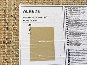 IKEA Alhede and Adhum High Pile Rugs - PRICED TO SELL