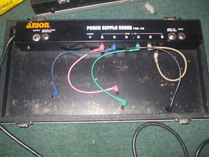 Arion Pedal board with built in power supply