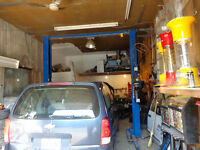 Lift de garage/ Lift hydrolique