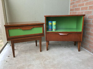Refinished side tables