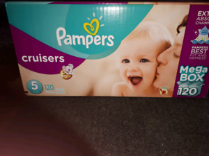 Unopened box pampers