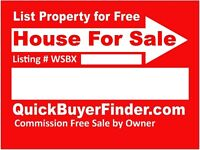 Free Listing at QuickBuyerFinder.com or Add MLS Service and more