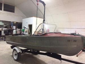 12 foot aluminum boat for sale