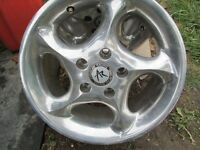 4---15 in American Racing Alloys---5 x 110mm