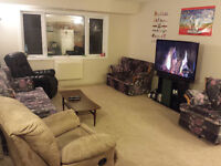 Room for rent in a beautiful & spacious 3 bedroom apartment