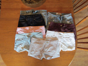 EUC - HOLLISTER, ABERCROMBIE AND AMERICAN EAGLE SHORTS LOT, 15$