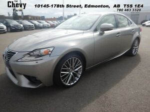 2015 Lexus IS 250 AWD  CAMERA | HEATED  COOLED SEATS