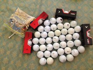 Golf Balls New Used 53 Pieces Nike Titleist Callaway Taylor