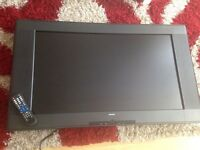 """37"""" LCD television freeview built in with remote"""
