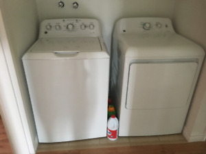 G/E WASHER AND DRYER