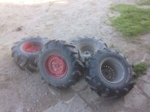 4 Mudbug tires on Honda rims
