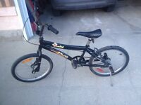 """BMX Bicycle 20"""" wheels Older but Little Used"""