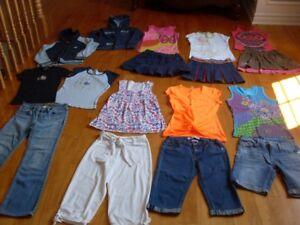 lot vêtements fille été grandeur 10 ans