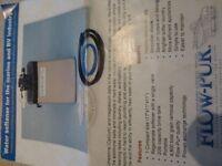 Adoucisseur d'eau compact pour motorisé ou caravanne a sellette