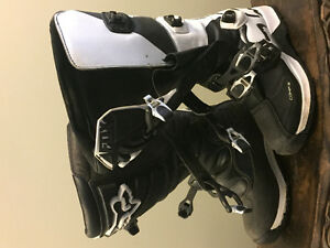 Fox Comp 3 and Comp 5 MX Boots