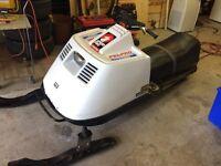 Made in Canada Snowmobile. Bombardier Elan 250cc snowmobile