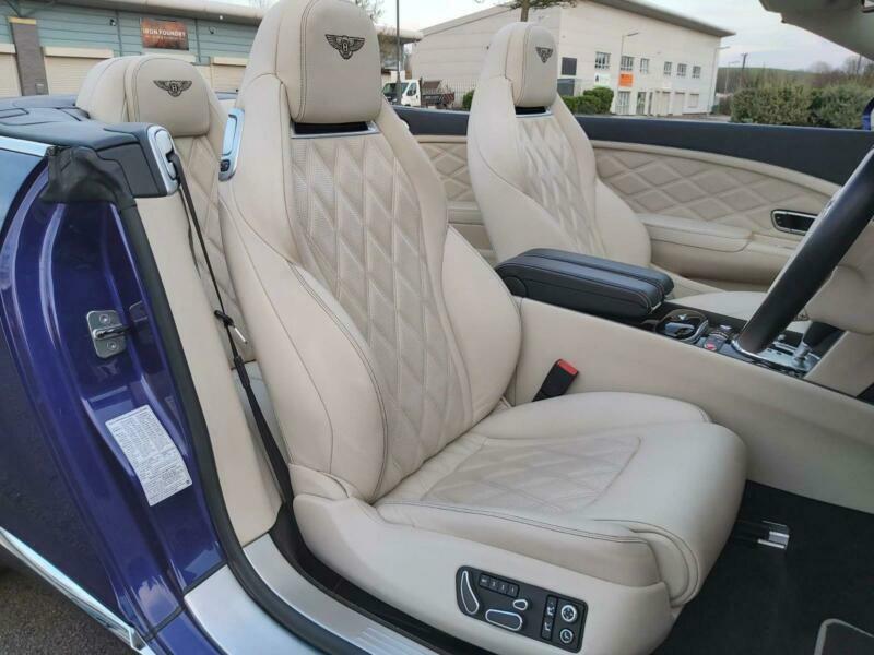 2014 Bentley Continental 4.0 GTC V8 Auto 4WD 2dr (EU5) Convertible Petrol Automa