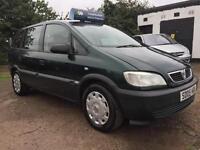 2005 Vauxhall Zafira 1.8i AUTO Life 7 Seater 2 Keys Service History