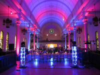 Windsor Wedding DJ with Full Compliment Lighting Packages