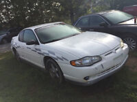 2001 MONTE CARLO SS LEATHER LOADED 750$@902-293-6969