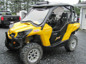 Commander Rotax 800 Can-Am yellow