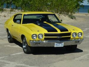 GORGEOUSE PEARL OVER YELLOW CHEVELLE SS